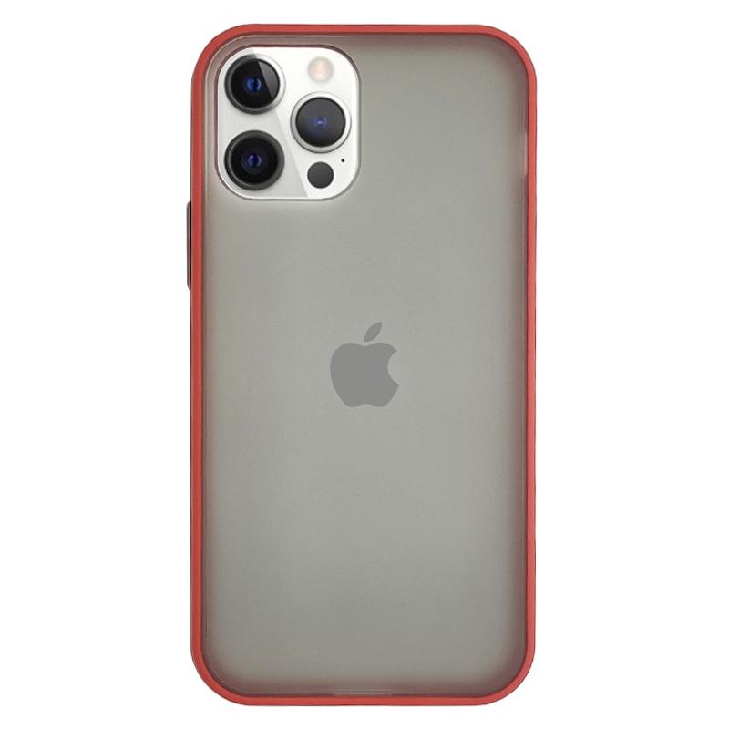 Funda Ahumado Roja <br>iPhone 12/12 Pro