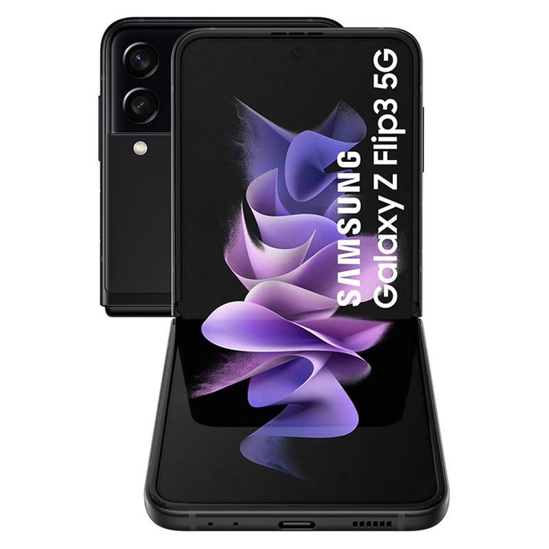 Samsung Galaxy<br>Z Flip3 5G 256GB Negro